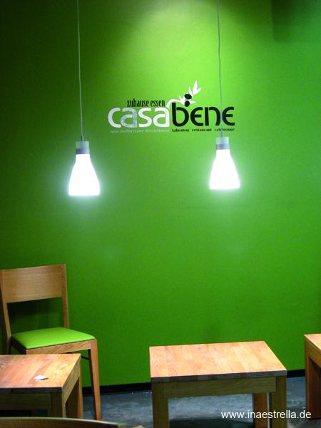 Wandgestaltung Restaurant