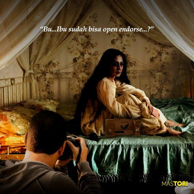"""1 14 7 Gambar Meme Tokoh 'Ibu' Film Pengabdi Setan"""" ini Lucu Abis"""