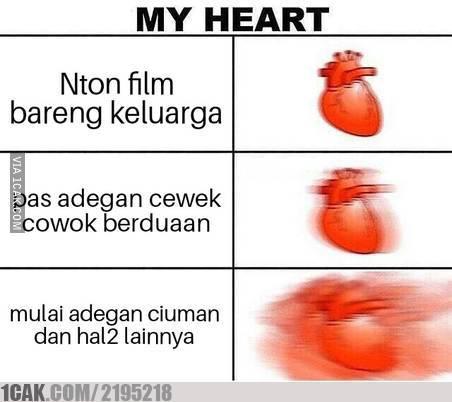 1 17 10 Gambar Meme Kondisi Jantung ini bikin Kamu Ngakak aja Liatnya