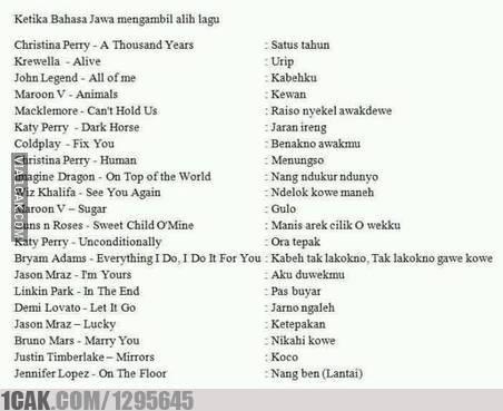 1 30 10 Gambar Meme Lucu 'Bahasa Jawa' ini bikin Kamu Ngakak Lihatnya