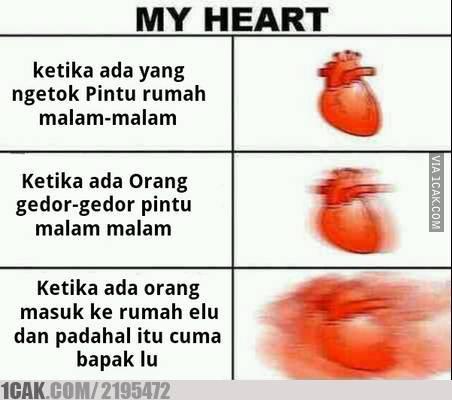 3 18 10 Gambar Meme Kondisi Jantung ini bikin Kamu Ngakak aja Liatnya