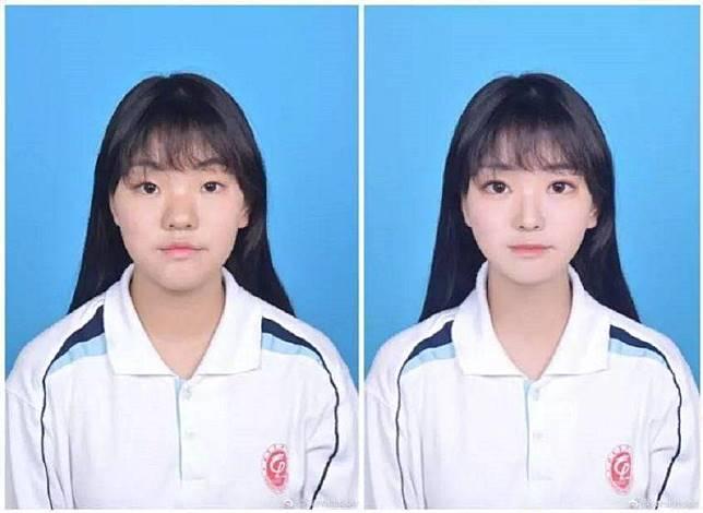 4 38 Cewek Cewek ini Jago Edit Foto hingga Terlihat cantik, ternyata begini Bentuk wajah asli mereka