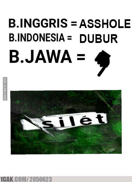 6 28 10 Gambar Meme Lucu 'Bahasa Jawa' ini bikin Kamu Ngakak Lihatnya