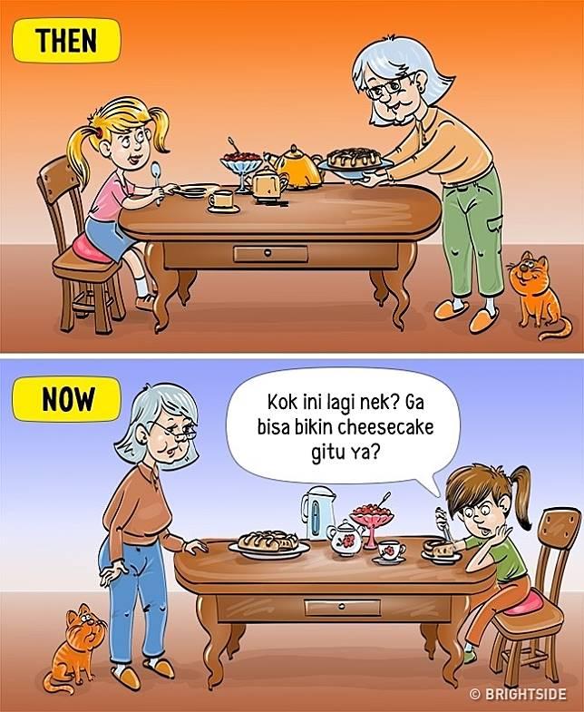 7 7 13 Komik ini Perlihatkan Beda antara anak zaman sekarang dan dulu!
