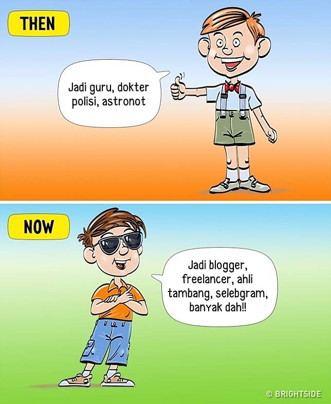 8 6 13 Komik ini Perlihatkan Beda antara anak zaman sekarang dan dulu!