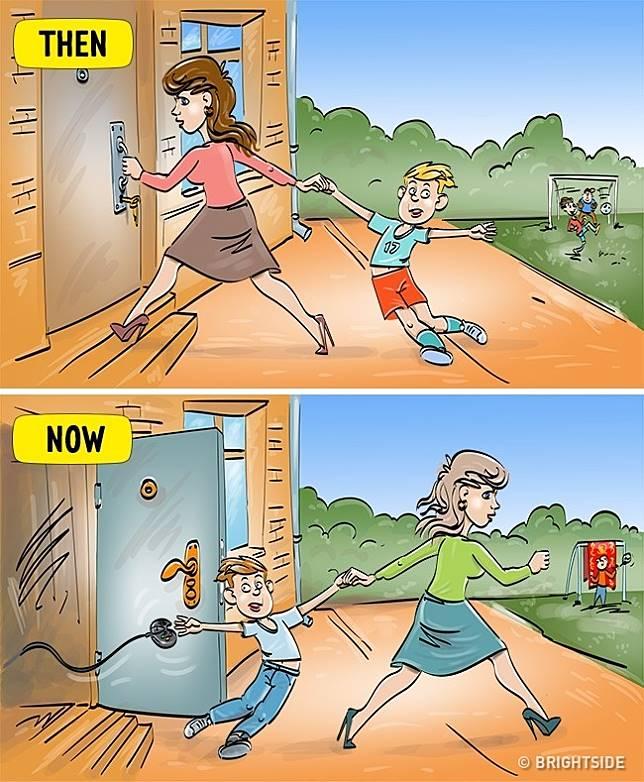 9 5 13 Komik ini Perlihatkan Beda antara anak zaman sekarang dan dulu!