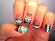 nail art #12 tribal nails inailedit