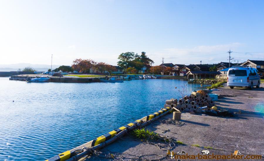 穴水町 岩車漁港 釣りスポット 綺麗 田舎 里海 暮らし Ocean countryside lifestyle