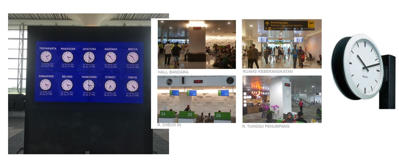 Airport Master Clock System