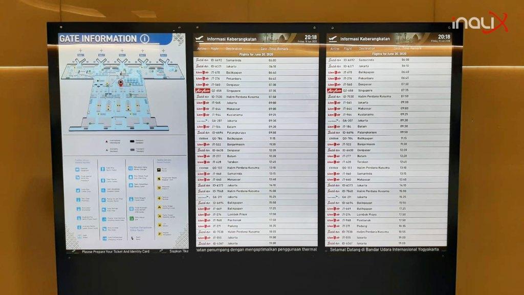Flight Informations + Public Information Message