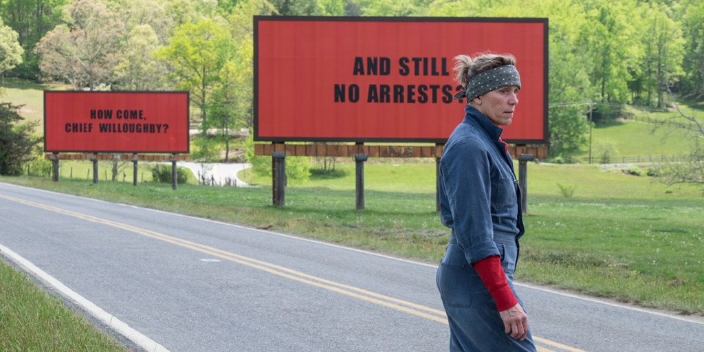 """Featured image for """"""""Three Billboards"""" Review"""""""