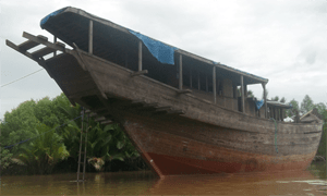 Phinisi Type Wooden Ship