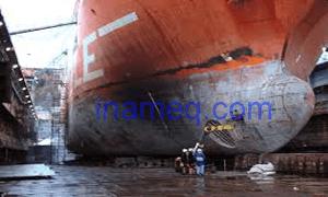Reparasi kerusakan pelat kapal dan tahap penyusunan daftar reparasi kapal