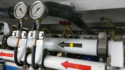 Ship pneumatic system