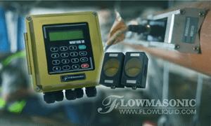 WUF 100 CF Flowmasonic Clamp On Flow Meter