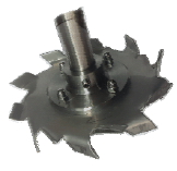 Cowles impeller for ship
