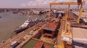 Building and repair shipyard