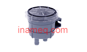 Cooling water strainer type 140 for 16 mm hose connections