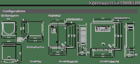 Gyrocompass TG-8000/8500