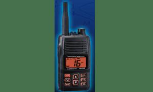 Handheld VHF radio communication for marine type HX400IS