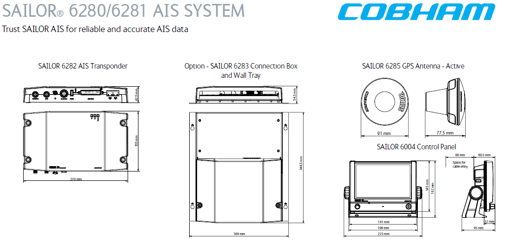 SAILOR AIS SYSTEM
