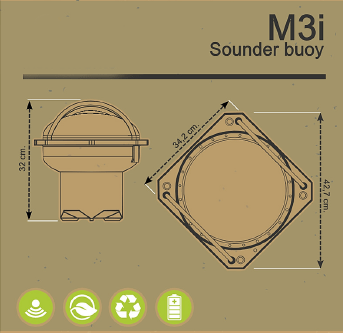 M3i Sounder buoy drawing
