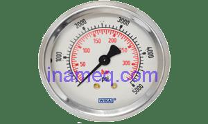 Marine Pressure Gauge Stainless Steel