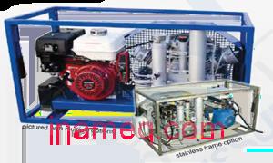 Mini Tech High Pressure Air Compressor type Nuvair NUV-8040.2 for Marine