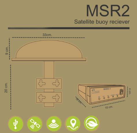 MSR-2 Receiver Satellite Buoys Drawing