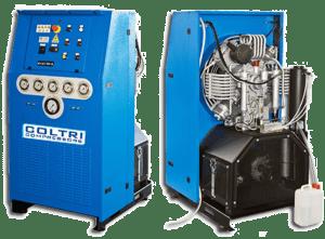 Open High Pressure Air Compressor type Nuvair 26 NUV-8044.6