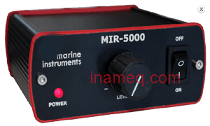 Reception system marine instrument