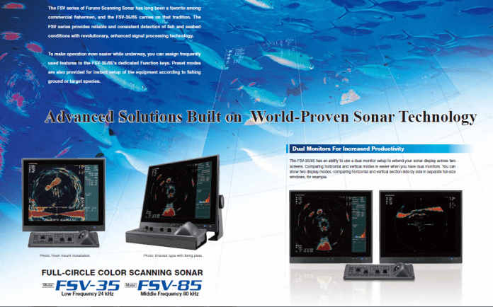 Advanced Solutions Built on World-Proven Sonar Technology