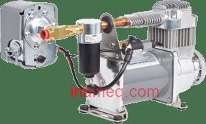 Air Brake Compressor - Horizontal Mount