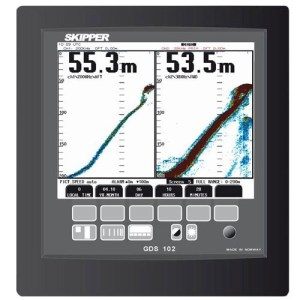GDS102 dual channel Navigation Echo Sounder