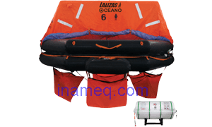 Liferaft SOLAS OCEANO, Throw Over-board