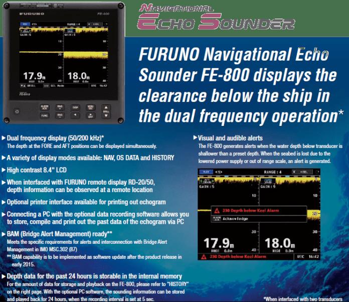 Navigational Echo Sounder