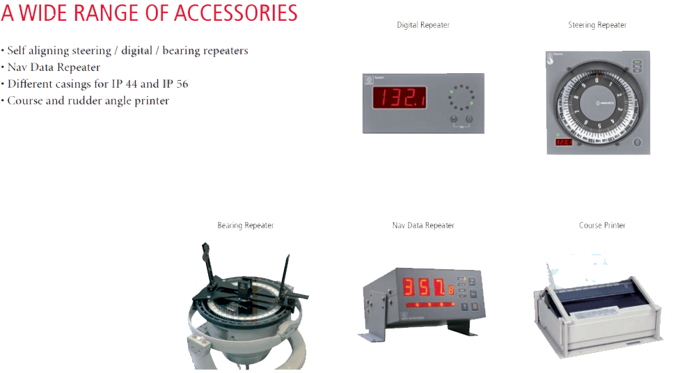 A WIDE RANGE OF ACCESSORIES