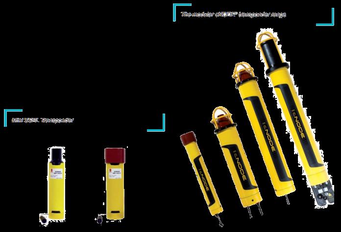 Mini SSBL Transponder and The modular cNODE transponder range