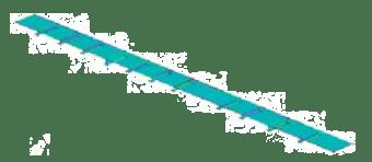 Gambar 4. Model penampang geladak