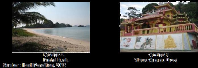 Pantai Kusik dan Vihara Gunung Dewa