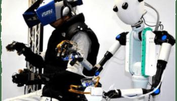 TELESAR V robot avatar