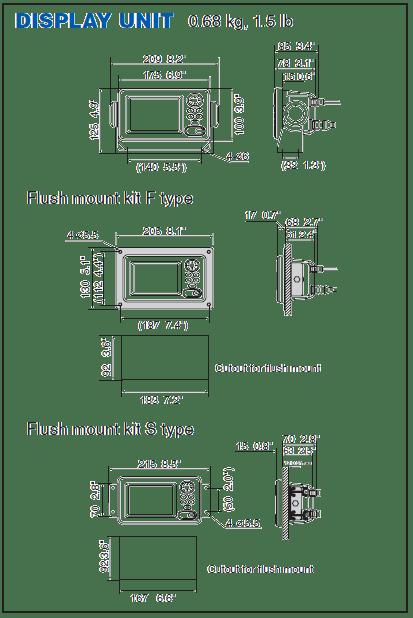 Navtex Receiver Model NX-300 Display Unit