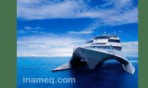 Ship catamaran design