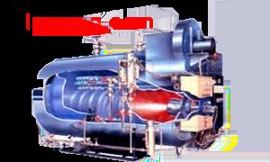 Turbin uap di kapal