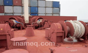 Marine maintenance of mooring ropes and wires