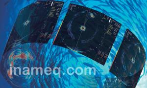 Scanning sonar type KCS-3885Z for fishery