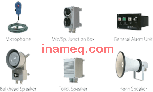 Public Address and General Alarm System For Marine