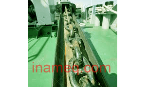 Ship anchor chain