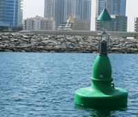 1250mm Diameter Navigation Buoy (SL-B1250) Installation