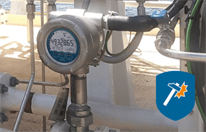 Flowmeter Fluidwell Type E126-EL Series For Offshore Application